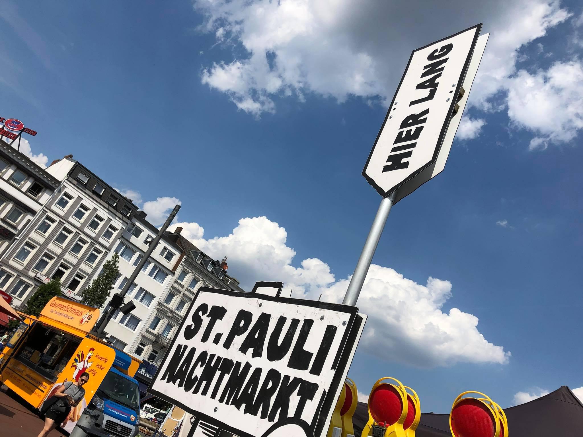 Der St. Pauli Nachtmarkt ist ein Paradies für hungrige Hamburger!