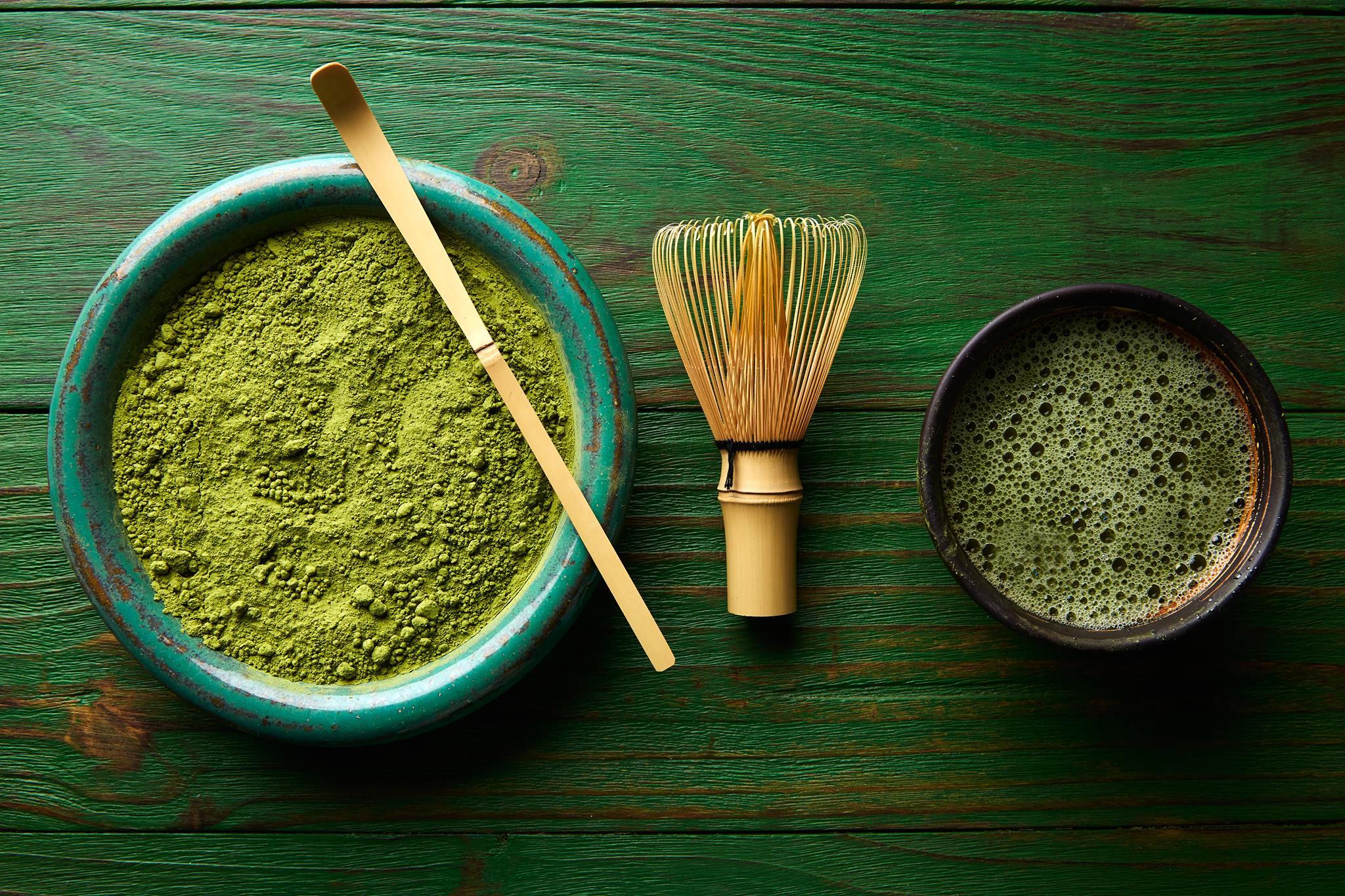 Genieße eine besinnliche Teezeremonie im Japanischen Garten.