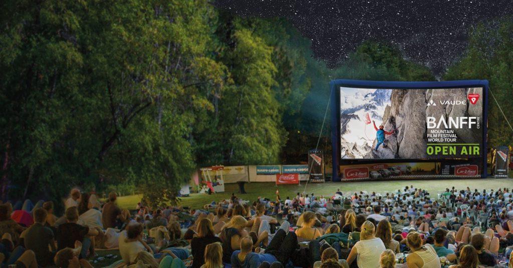 Das Banff Mountain Film Festival zeigt Filme übers Draußensein!