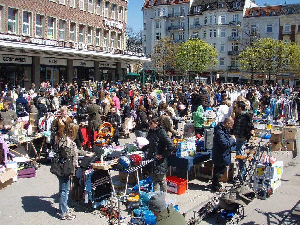 Beim Flohmarkt Eppendorf gibts Fundstücke aus der Nachbarschaft!