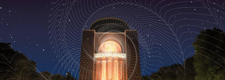 Die Klangwolke zum Vollmond verbreitet sphärische Sounds im Stadtpark!