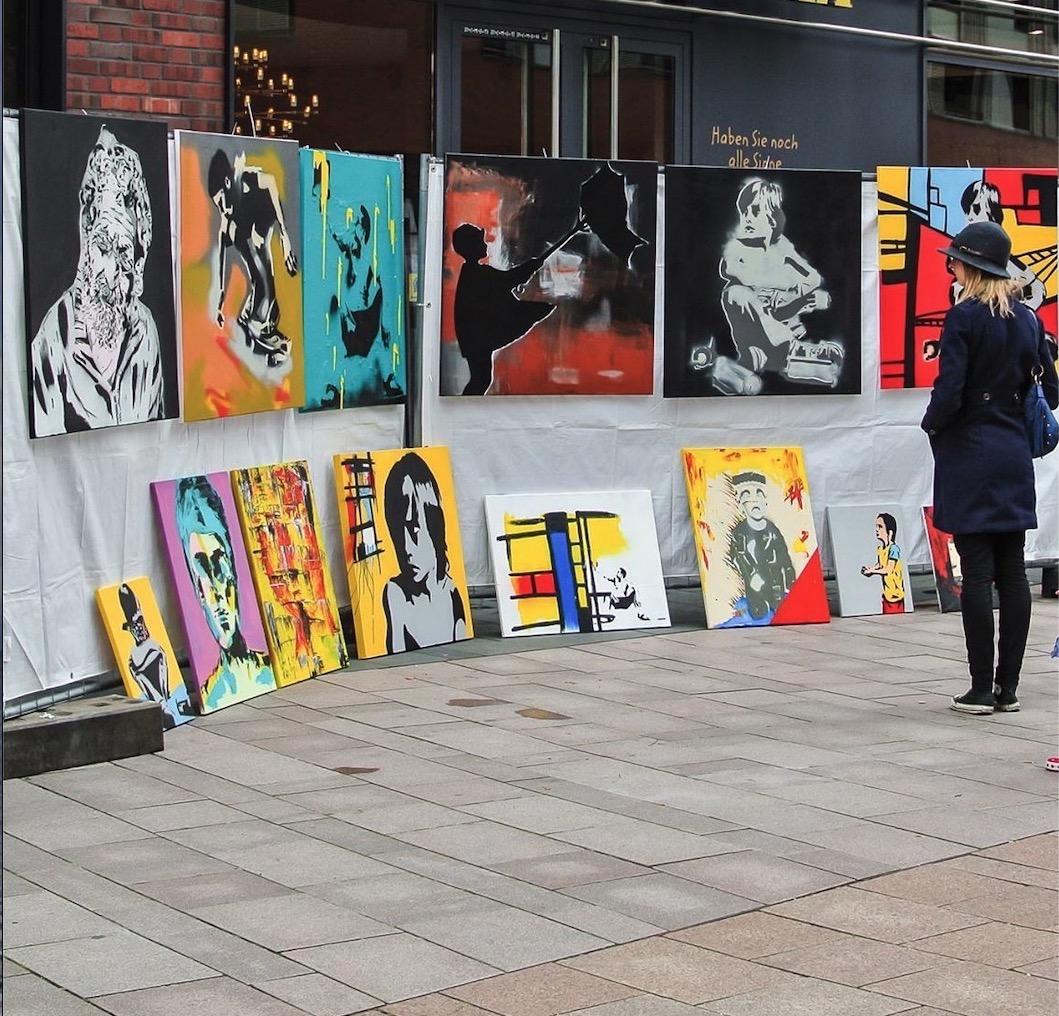"""Komm in die HafenCity: """"Hamburg zeigt Kunst"""" hat Kreativität jeder Art zu bieten."""