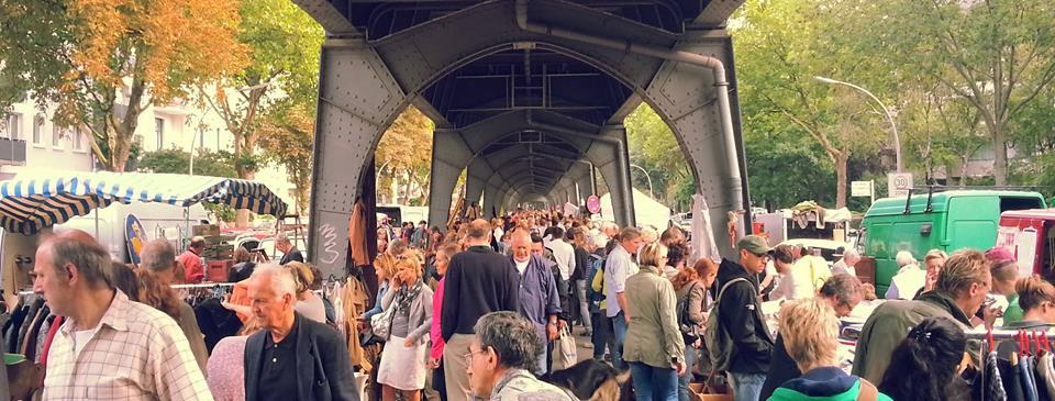 Stöbere dich glücklich beim Floh- & Kunsthandwerksmarkt auf der Isestraße!