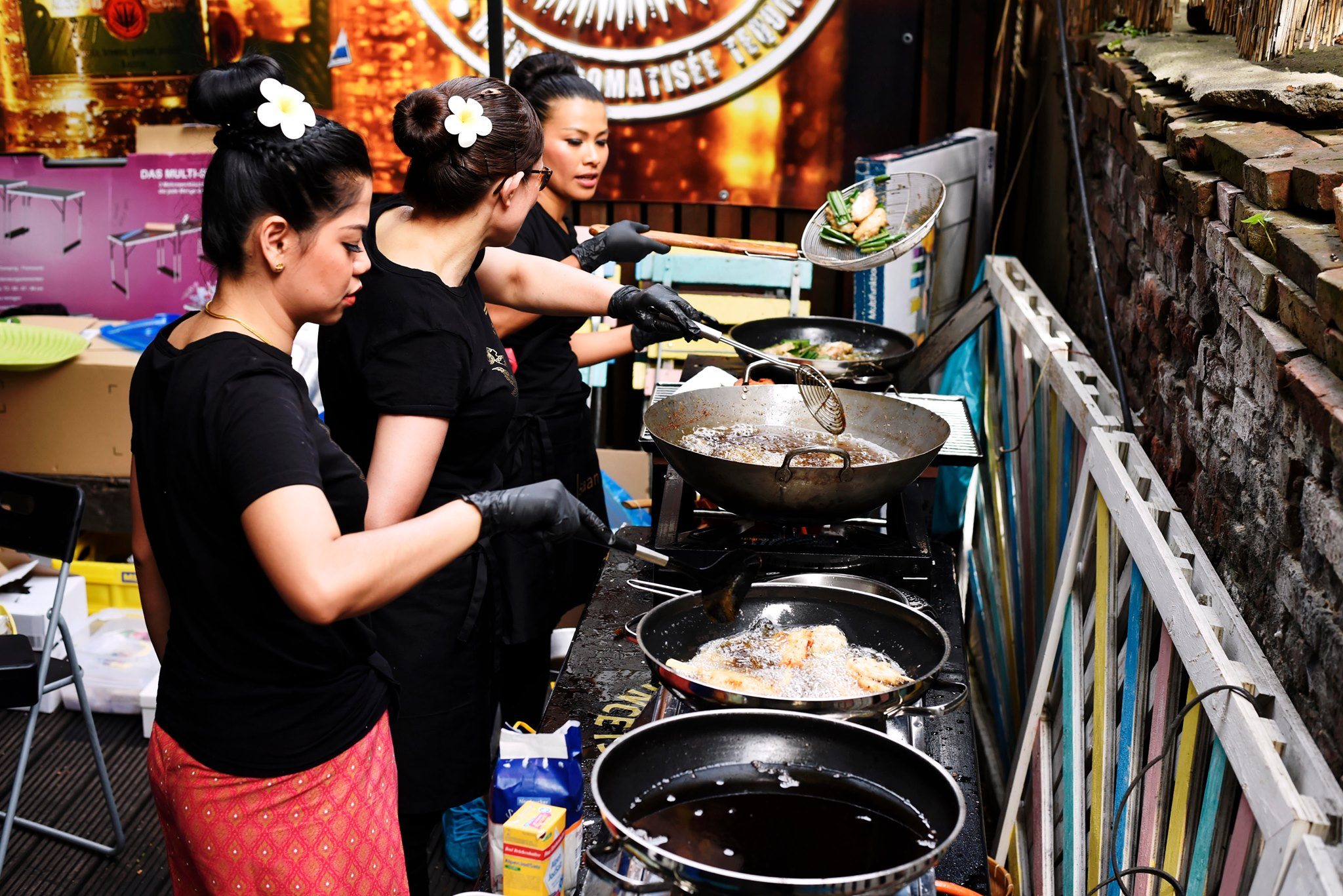Authentischer Charme erwartet dich beim Thai Street Food Festival.