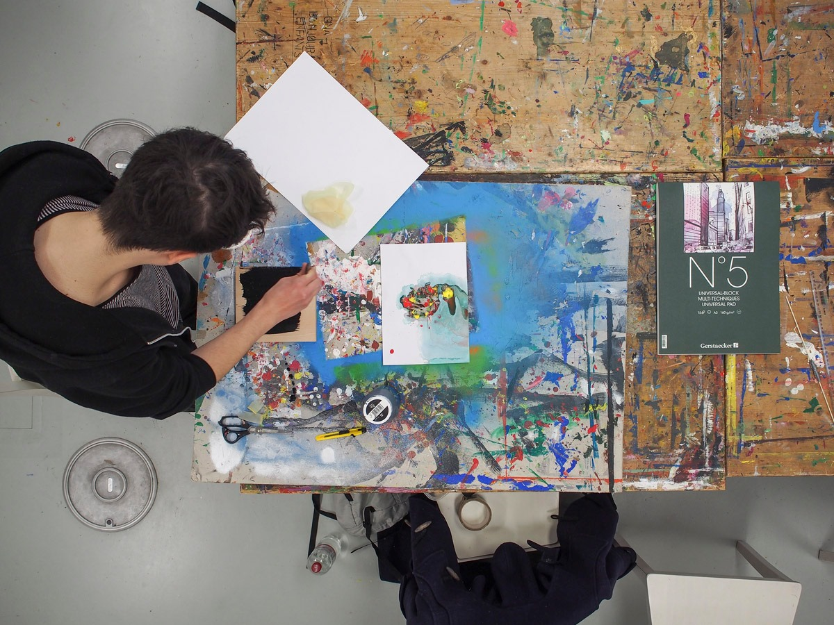 Im Klub der Künste kannst du deine kreativen Ideen umsetzen.