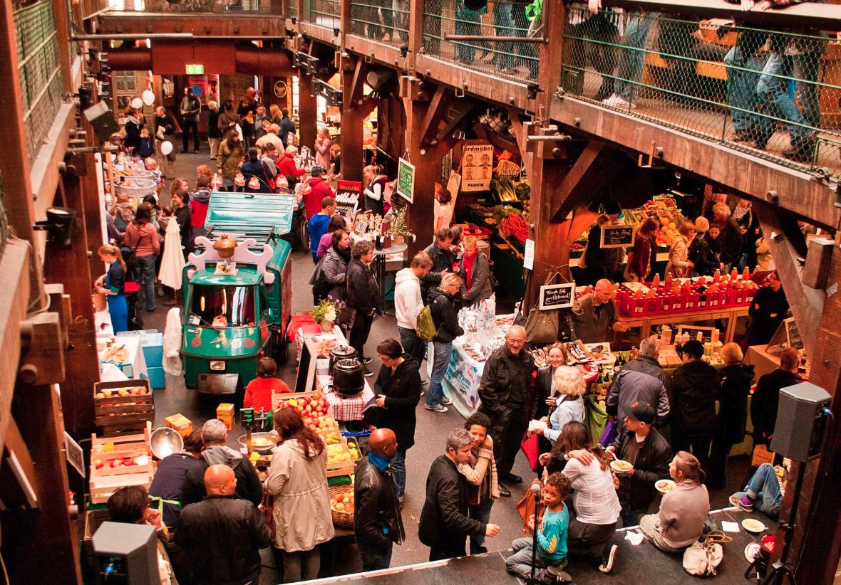 Satt wirst du beim Cheese & Wine Festival mit Sicherheit!