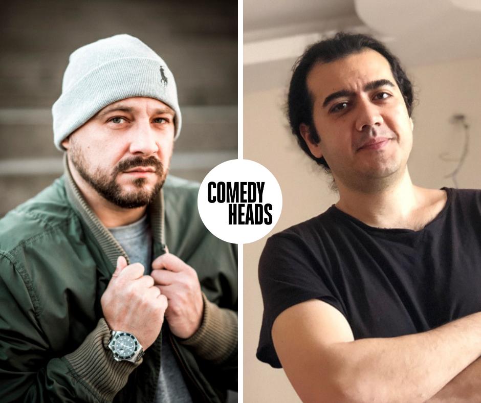 Newcomer & alte Hasen stehen bei Comedyheads Stand-Up auf der Bühne.