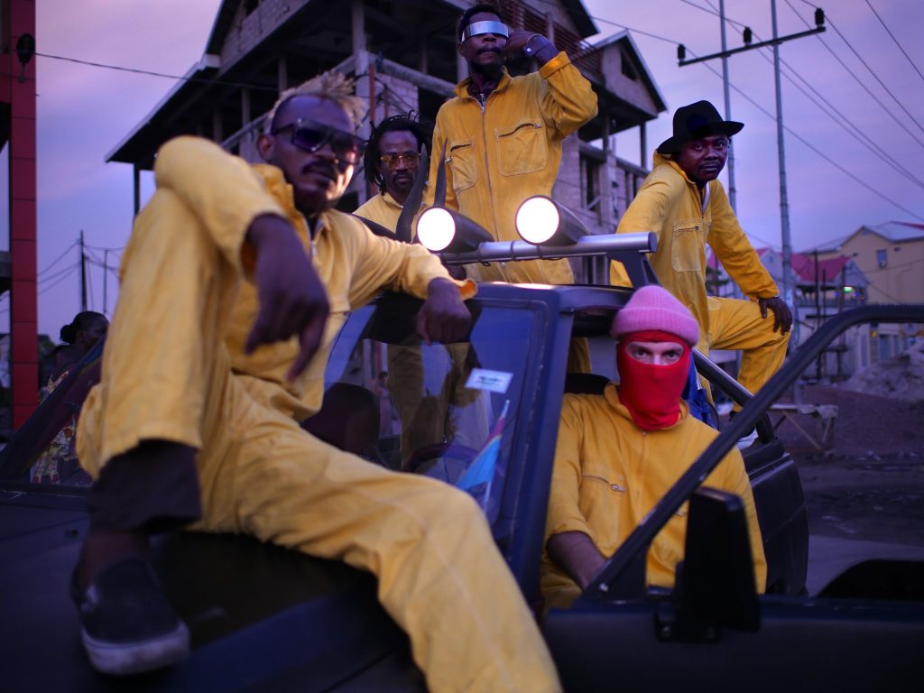 Die kongolesische Tanz-und Electroband Kokoko! wird dich elektrisieren!