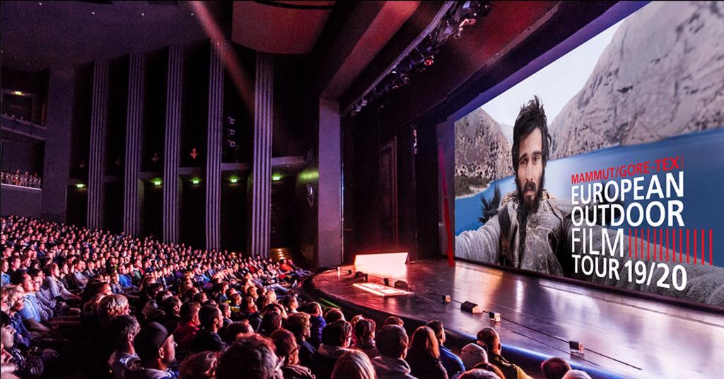 Verrückte Outdoor-Geschichten präsentiert dir die European Outdoor Film Tour.
