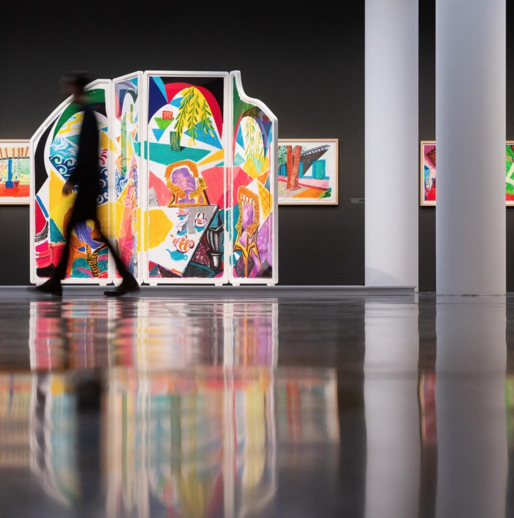 David Hockney: Eine Dokumentation über einen der größten Künstler unserer Zeit.
