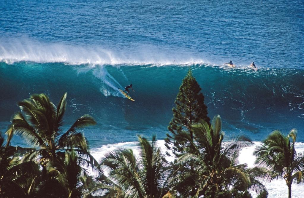 Bei der Surf Film Nacht werden wilde Wellen geritten.