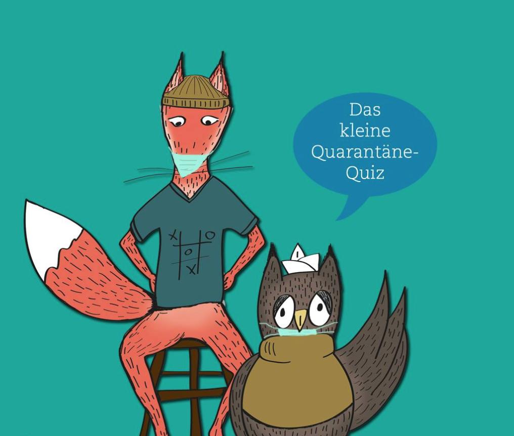 """Du suchst die Herausforderung? Bei """"Fuchs trifft Eule"""" kannst du quizzen!"""
