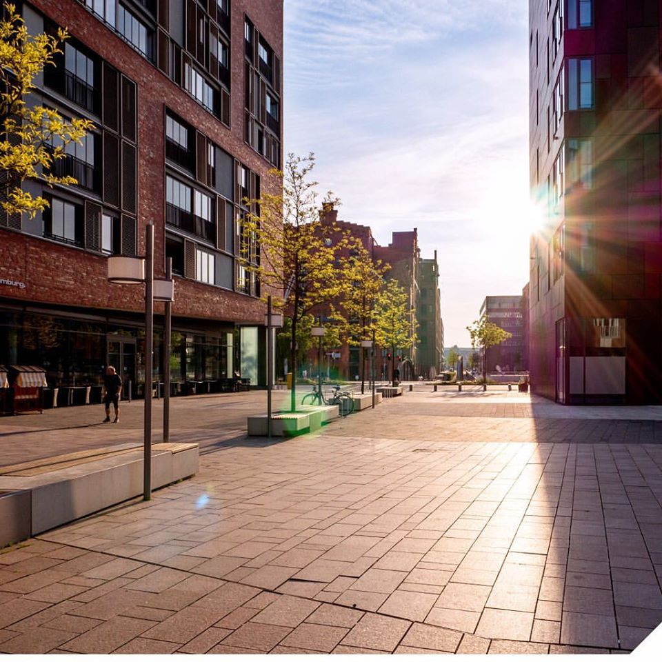 Mache einen Spaziergang durch die wunderschöne HafenCity!