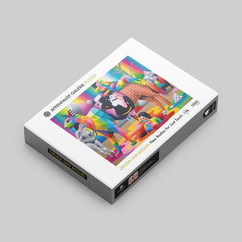 Jetzt kannst du die Kunstmotive der Affenfaust Galerie puzzlen!