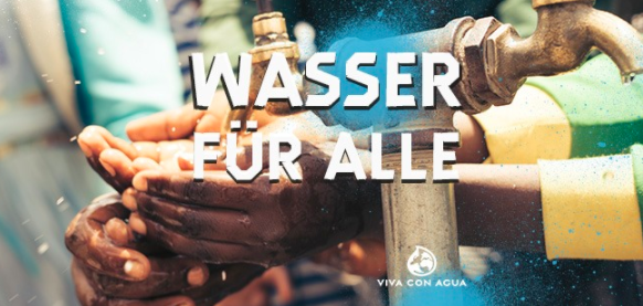 Viva Con Agua organisiert einen digitalen Workshop – 3 Tage lang!