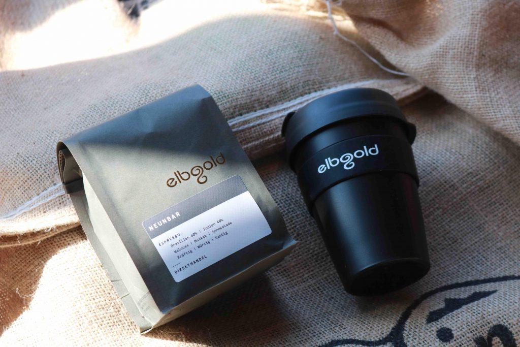🎉 Wir verlosen eine Nachbarschaftslieferung von elbgold inklusive Kaffee und Becher!
