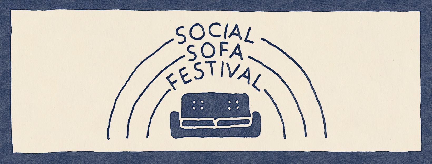 Das Social Sofa Festival findet auf Instagram statt.