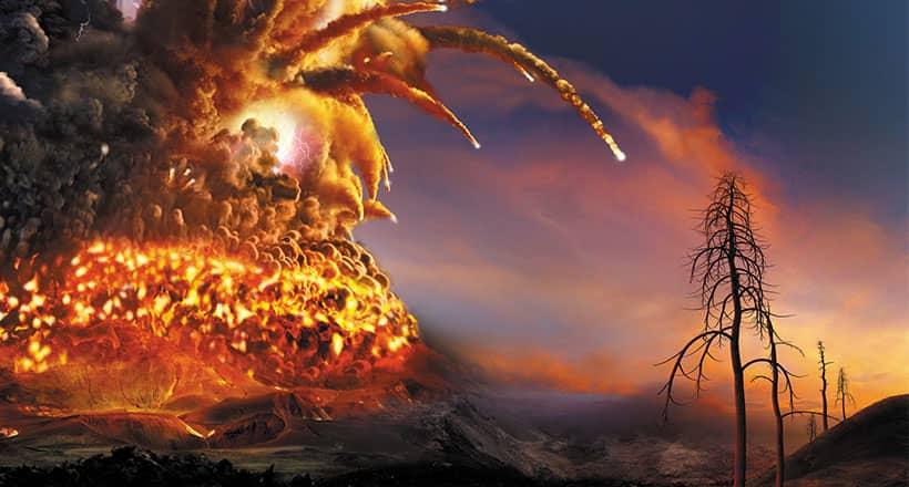 Das Planetarium nimmt dich mit in die Welt der Supervulkane.
