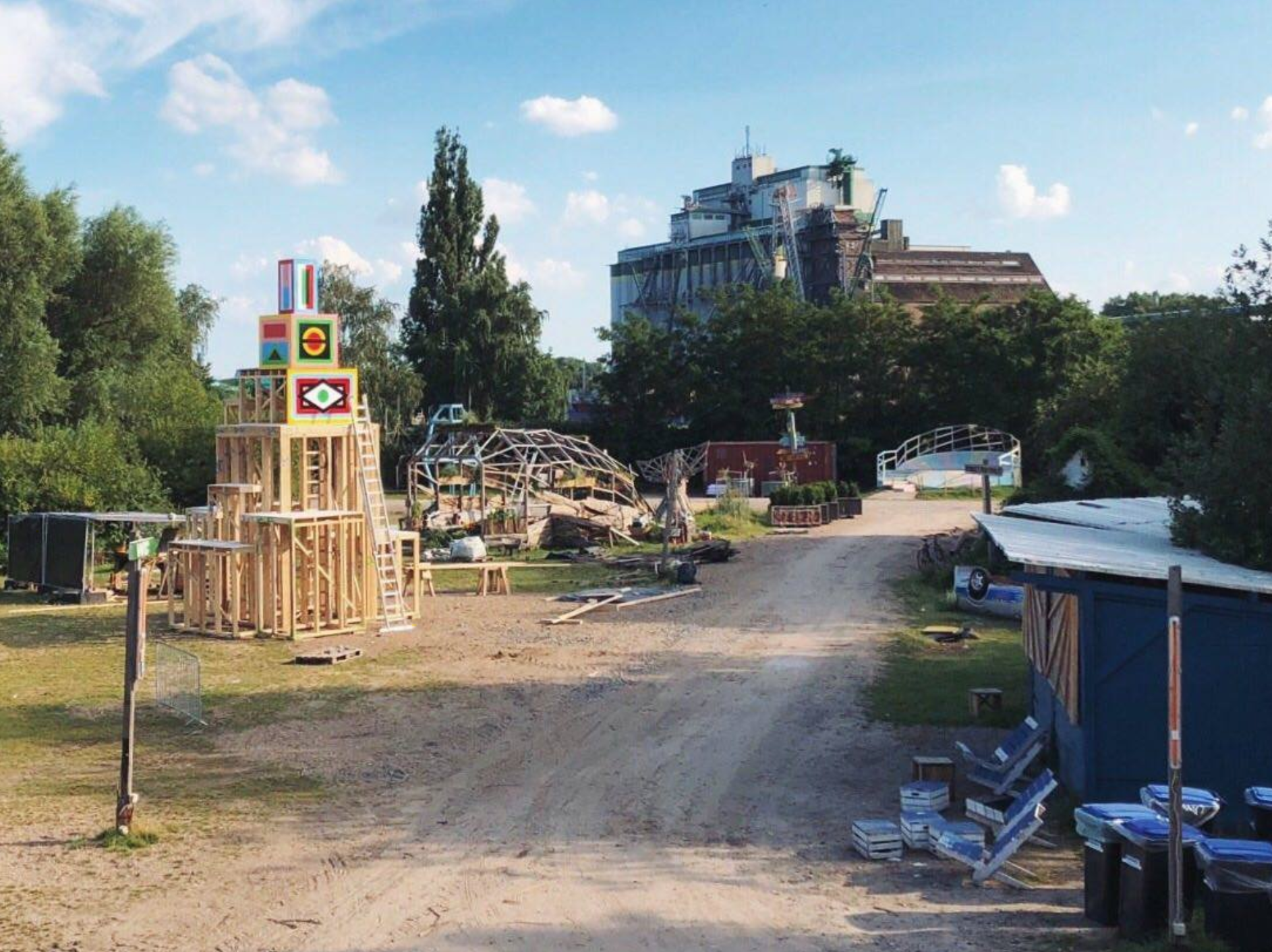 Kunst soweit das Auge reicht! Der MS Uferpark öffnet für dich.