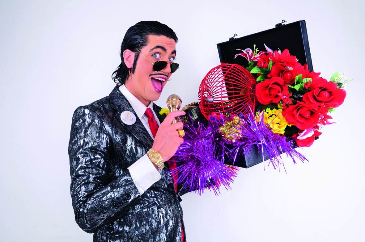 Sei bei der legendären Bingo-Comedy-Show von Ricardo M. dabei.