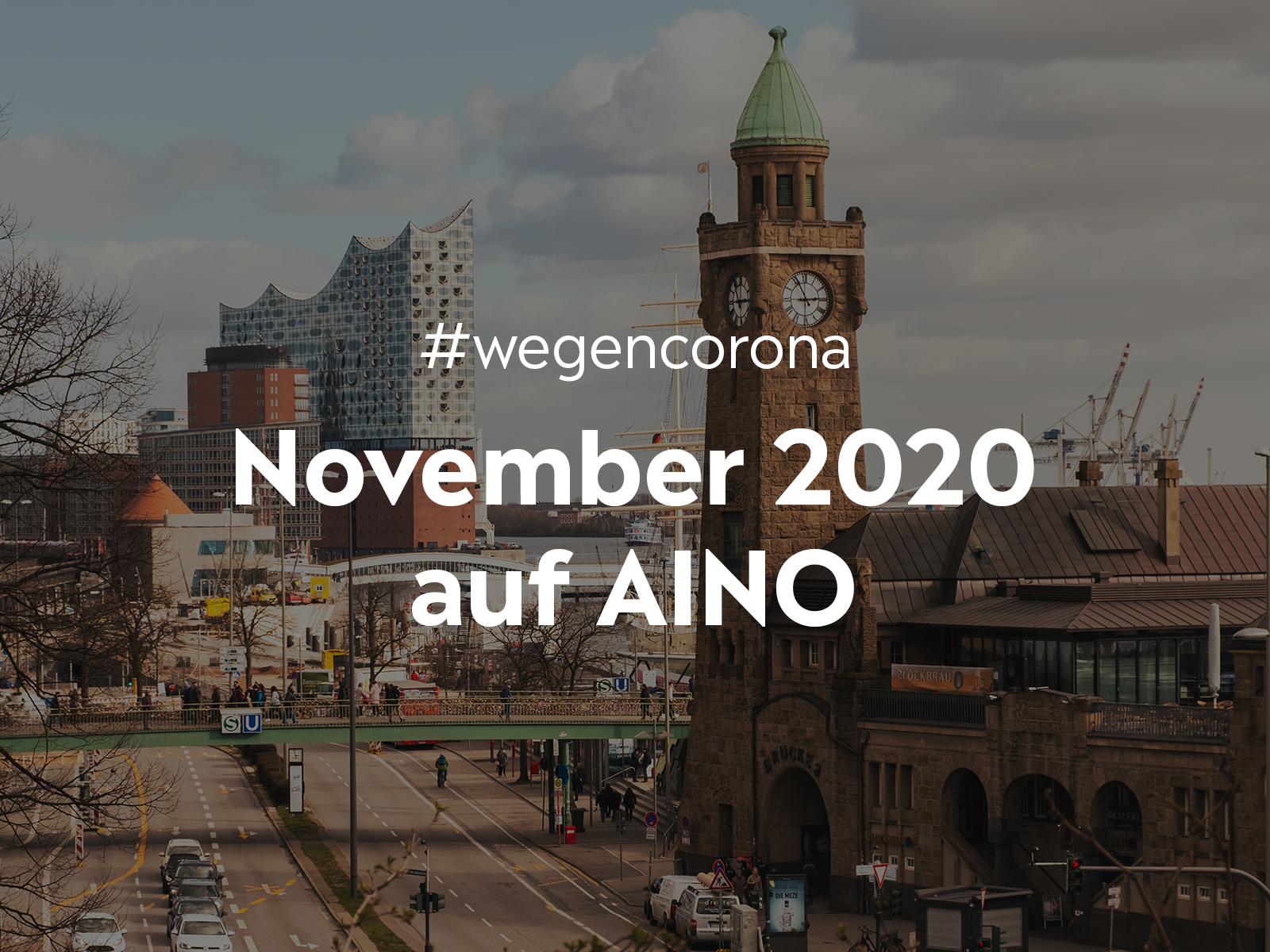 #wegencorona: Das macht AINO für dich im November