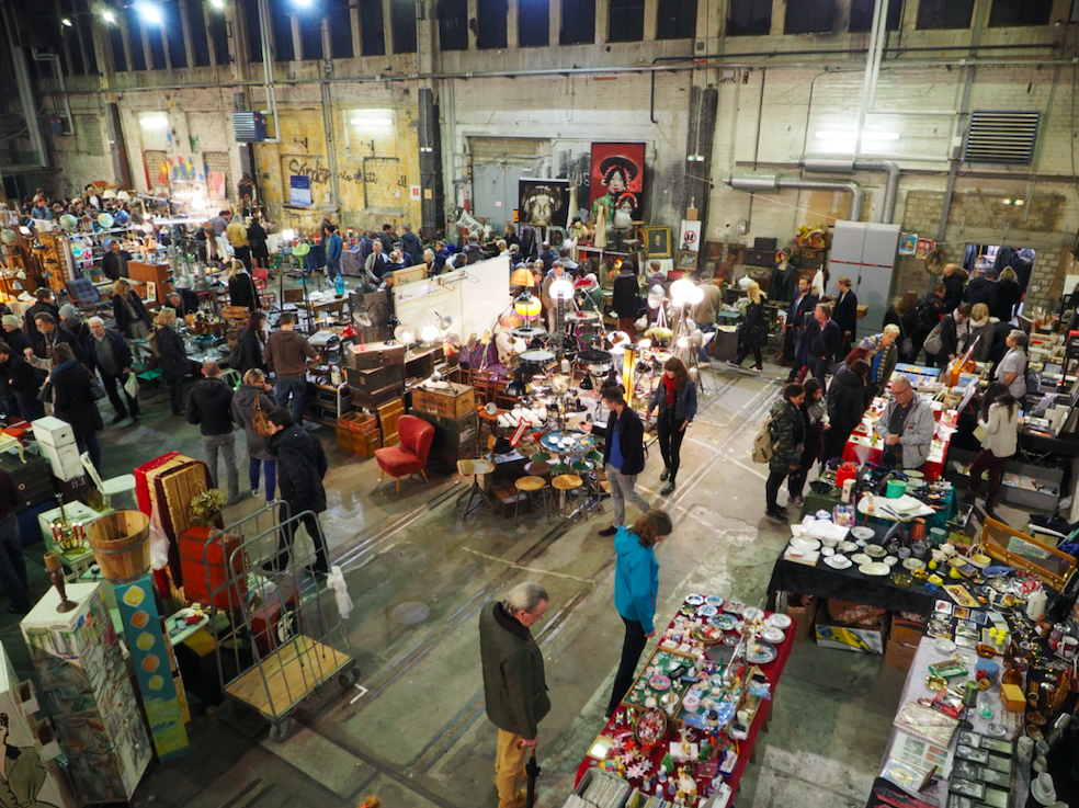 Traumhaft trödeln kannst du auf dem Vintage & Design Market Kampnagel.