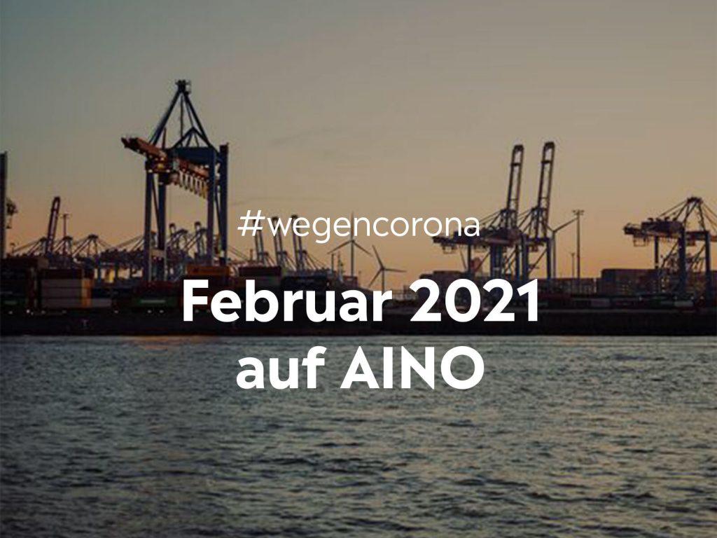 #wegencorona: Das macht AINO für dich im Februar
