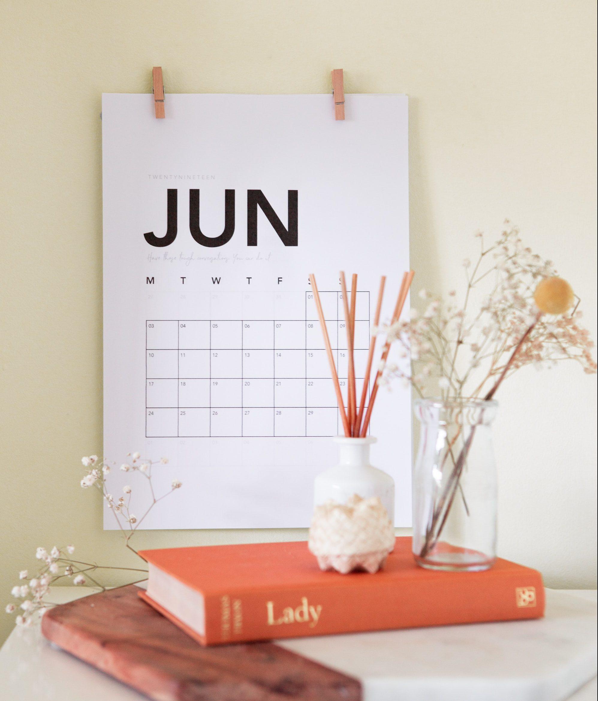 Jetzt aber dalli: Bastle dir einen Kalender für 2021!