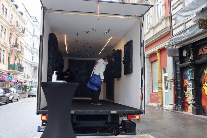 Merabi Danelia kommt mit seinem Kunst-Truck zu dir nach Hause!