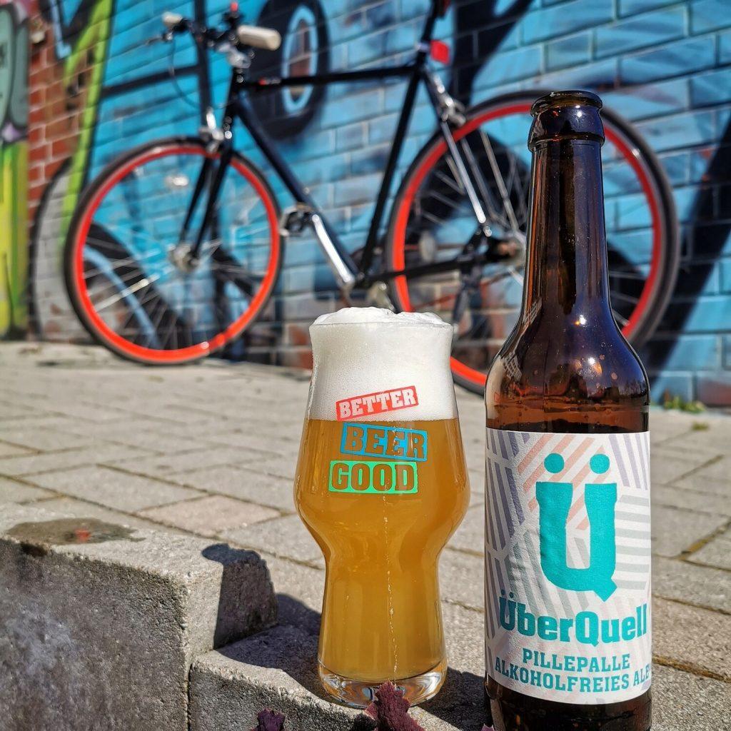 Dry January? Bestelle dir das alkoholfreie Pillepalle-Bier vom ÜberQuell!