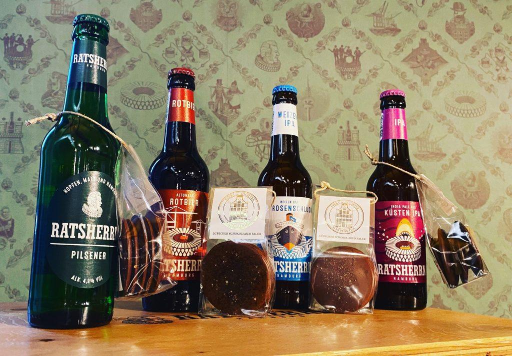 Das Bier und Schoki die beste Kombi sind, zeigt das interaktive Tasting!