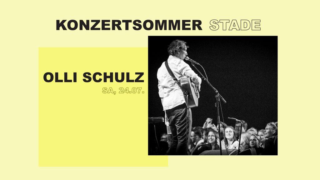 Olli Schulz sorgt beim KONZERTSOMMER STADE für gute Laune.
