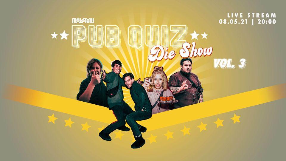 Das Molotow lädt zur nächsten Pub Quiz Show auf dringeblieben!