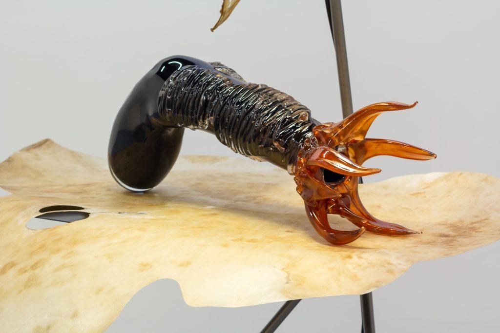 """""""from creatures to creators"""" ist die aktuelle Ausstellung im Kunsthaus."""