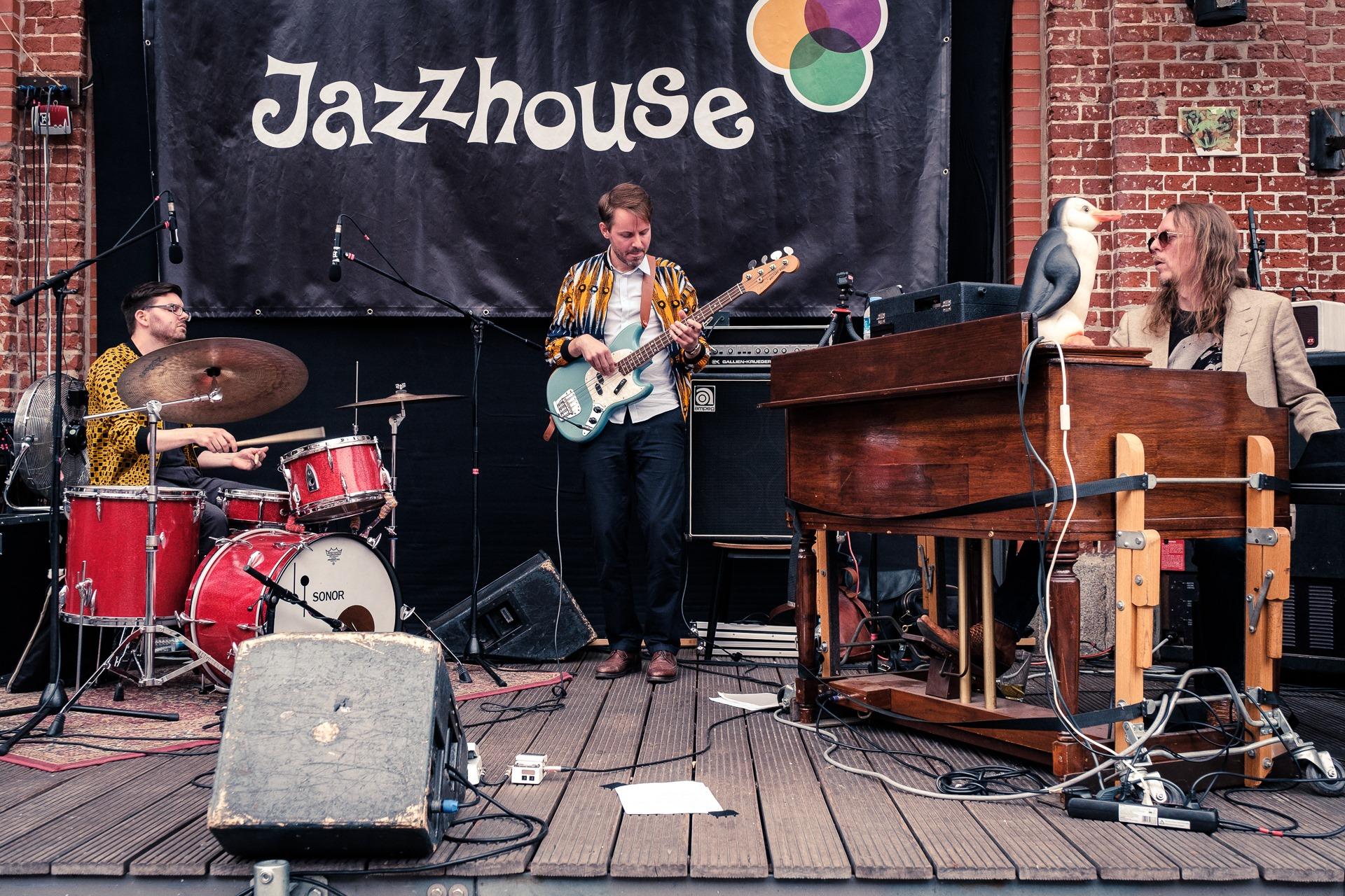 Fett! Beim Jazzhouse Open Air ist der Eintritt frei.