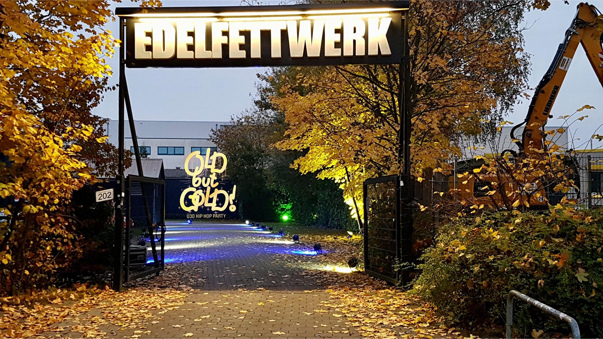 Die Old but Gold Party zieht Open Air ins Edelfettwerk Hamburg.