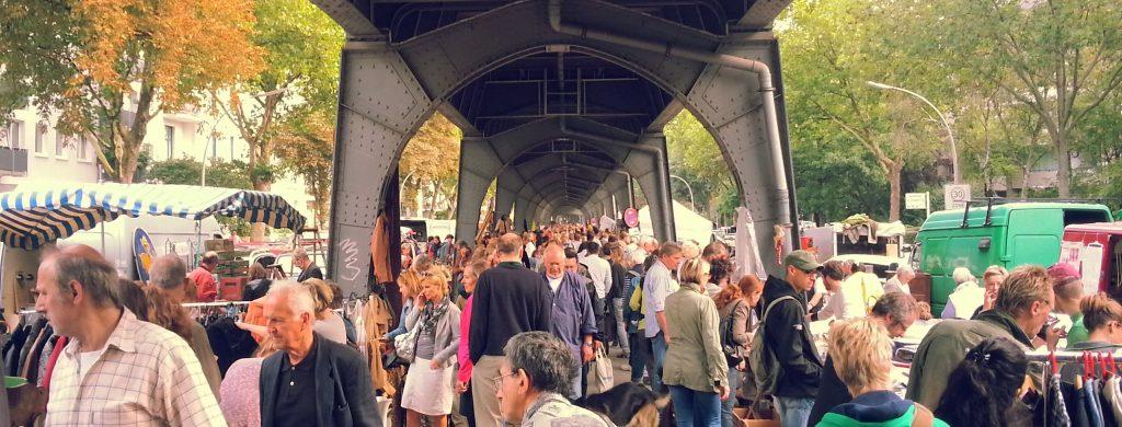 Spaß beim shoppen garantiert auf dem Flohmarkt Isestraße.