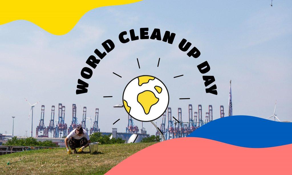 Am World Clean Up Day kannst du mit oclean auf St. Pauli aktiv werden!