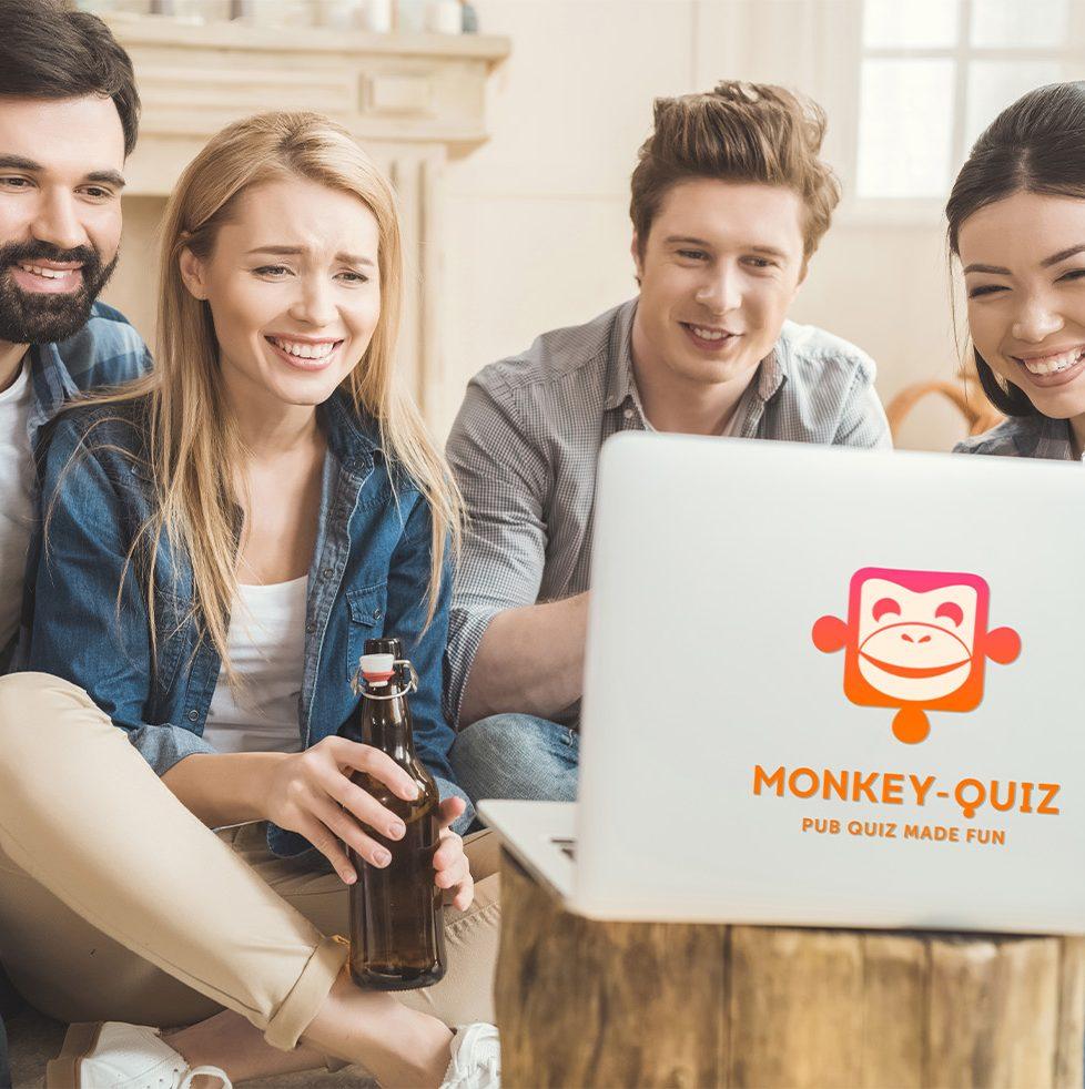 Beim Monkey-Quiz ist Teamwork gefragt!