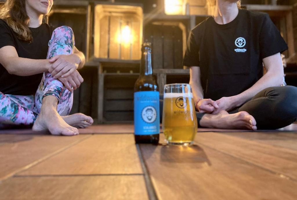 Bier und Yoga? Das geht richtig gut zusammen!
