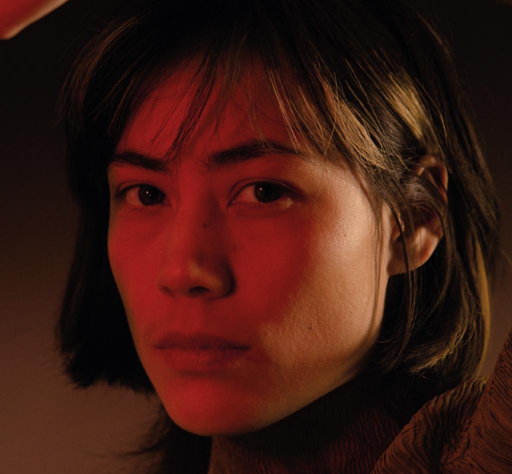 Künstlerin Kuoko beglückt das Molotow mit ihrer Stimme.