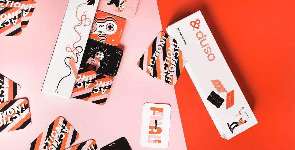🎉 Wir verlosen 3 x 1 &duso Design Gesprächskarten-Set mit 90 Fragen