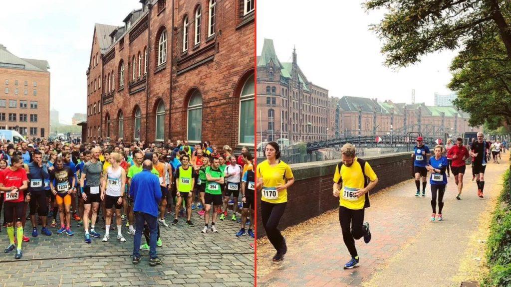 Schöner kann man nicht joggen gehen: Mach mit beim Speicherstadtlauf.